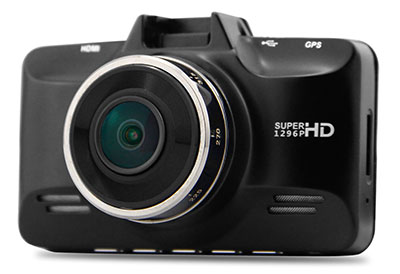 CDV-350GPS Dash cam exterior photo