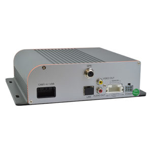 Multi Channel Driver Recorder With 1Tb Hard Drive Back View