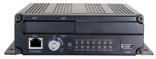 NESA DVR-4000HDQ drive recorder with SD card storage