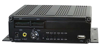 Neltronics DVR-4000Q multi-channel video drive recorder with SD car storage