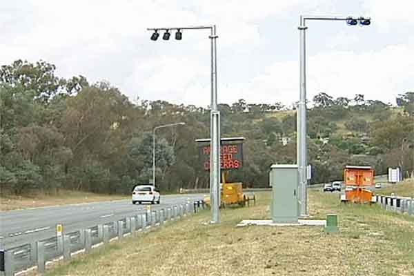 Point to Point (P2P) speed cameras australia ABC