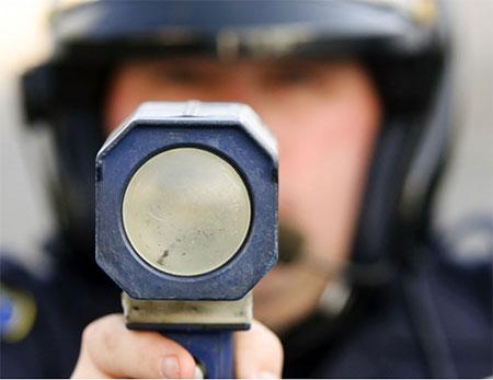 Police speed cameras with Escort radar detectors